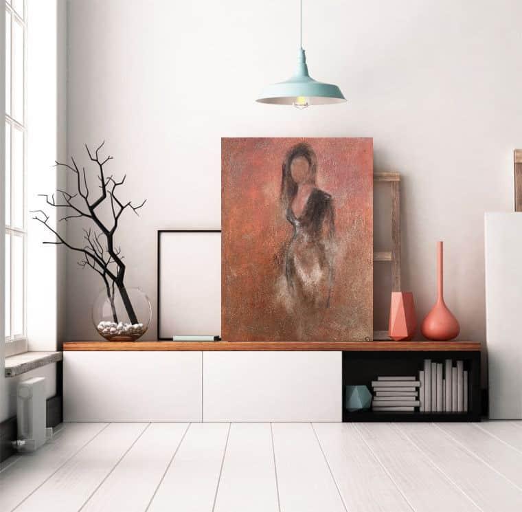 schilderij vrouw dames