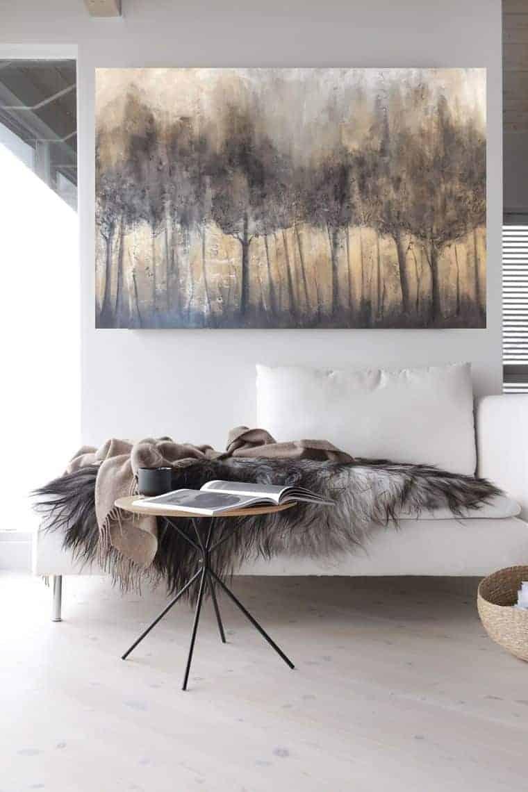 schilderij bossen bomen
