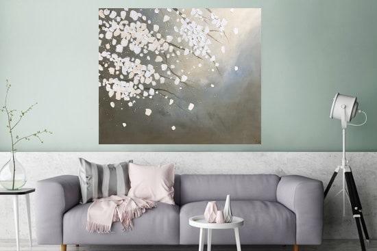schilderij op Canvas Bloesem Natuur